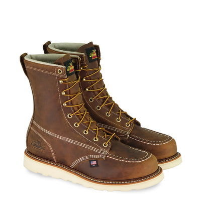 THOROGOOD 804-4478 AMERICAN HERITAGE – 8″ TRAIL CRAZYHORSE SAFETY TOE – MOC TOE MAXWEAR WEDGE™