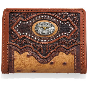 Silver Creek E80445 Cattle Driven Bi-Fold Wallet