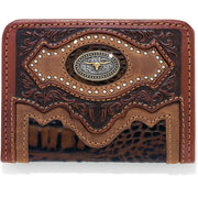 Silver Creek E80448 Cattle Driven Bi-Fold Wallet