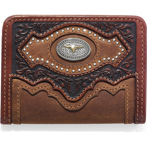 Silver Creek E80449 Cattle Driven Bi-Fold Wallet