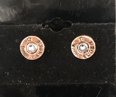 9MM Luger Bullet Earring