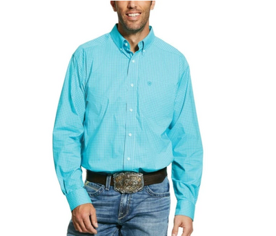 Ariat 10030699 Men's PRO KERNERSVILLE LONG SLEEVE SHIRT