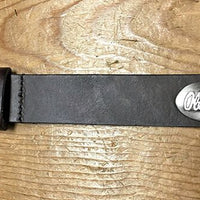 Zep-Pro Ole Miss Brown Leather Belt