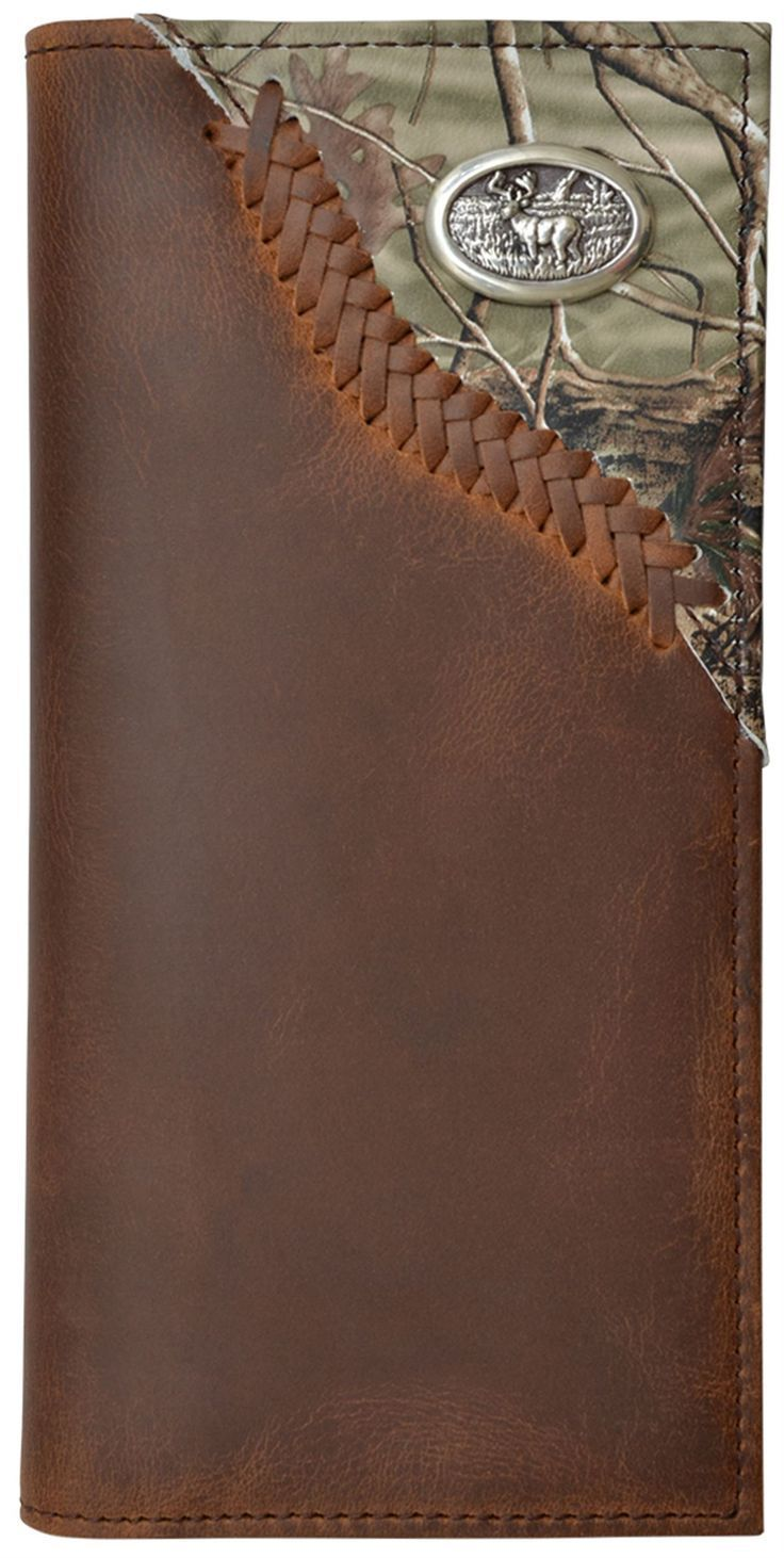 3D BW576 Badger Brown Outdoor Rodeo Wallet