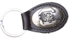 Zep-Pro KL6-BRW-USC South Carolina Gamecocks Small (Crazy Horse) Oval Concho Key Chain