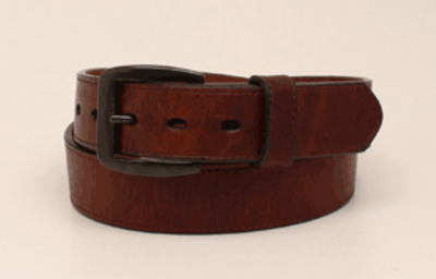 3D D100000602 MENS DARK BROWN BELT