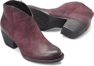 Born D89793 MICHEL Burgundy Suede *CLOSEOUT*