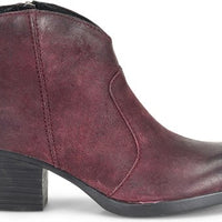 MICHEL Burgundy Suede (D89793) *CLOSEOUT*