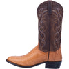 "DAN POST DP3039 13"" MANNING HONEY PYTHON R TOE BOOT"