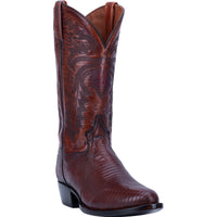 "DAN POST DP3051R 13"" WINSTON BROWN LIZARD R TOE BOOT"