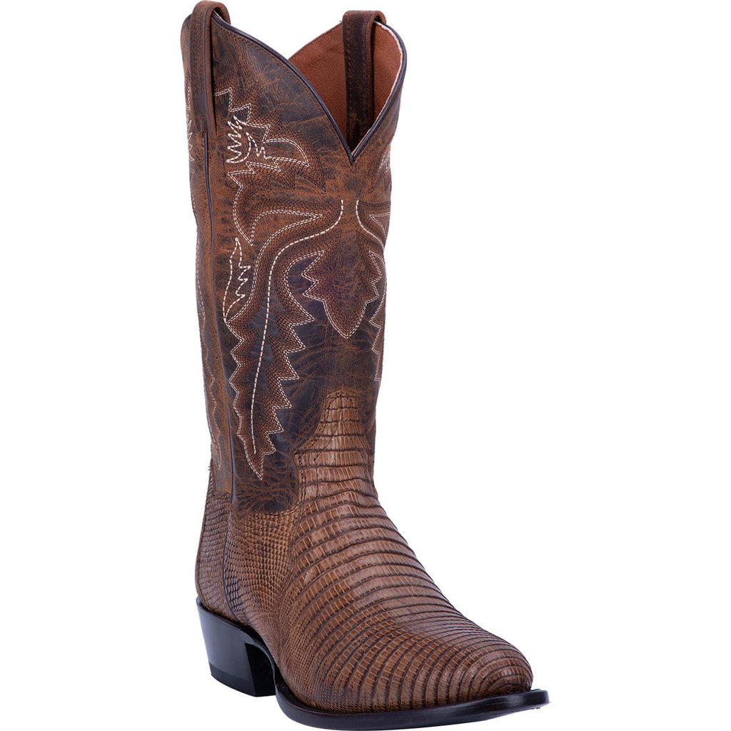 "DAN POST DP3054 13"" WINSTON BAY APACHE LIZARD R TOE BOOT"