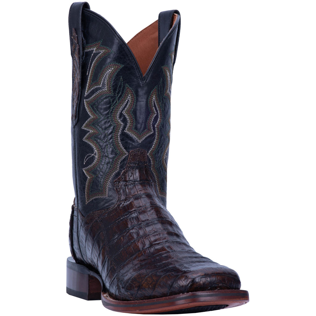 "DAN POST DP4860 11"" KINGSLY EVERGLADES CAIMAN WIDE SQUARE TOE BOOT"