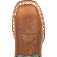 "WOMEN'S DURANGO® DRD0353 12"" REBEL PRO™ TEAL WESTERN BOOT"