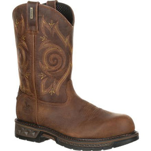 "GEORGIA BOOT GB00239 11"" CARBO-TEC LT COMPOSITE TOE WATERPROOF WORK WELLINGTON"