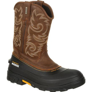 GEORGIA BOOT GB00244 MUDDOG WATERPROOF WESTERN WORK WELLINGTON