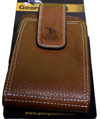 GEORGIA GBP136 BROWN XL VELVA BARRACUDA PHONE CASE