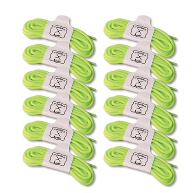 TWISTED X TXML002 SHOE LACE LIME GREEN (1 PAIR)