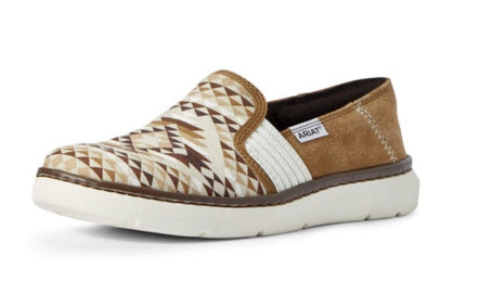 WOMEN'S ARIAT 10031626 RYDER TAN DIAMOND AZTEC