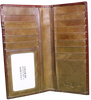 Brown Rooster w/ Tan Inlay Wallet 5027-1BR