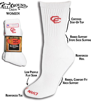 DAN POST WOMEN'S CREW SOCKS DPCGM9