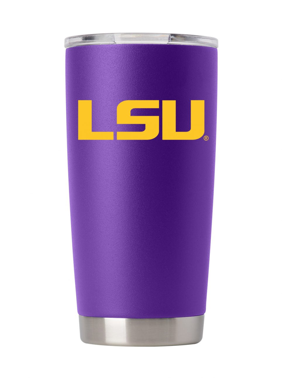 LSU 20oz. Purple Stainless Steel Tumbler
