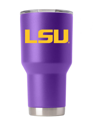 LSU 30oz. Purple Stainless Steel Tumbler