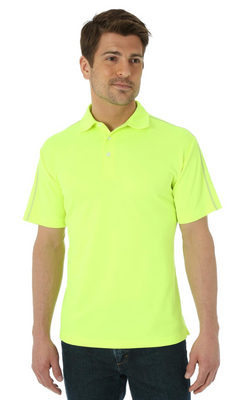 WRANGLER MACK02Y MEN'S COOL VANTAGE PERFORMANCE POLO SIZE MEDIUM *Closeout*