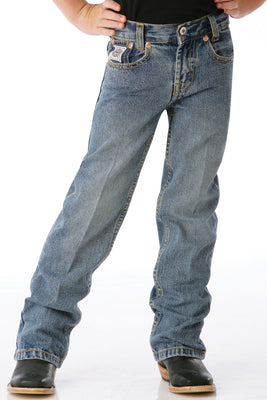 Cinch MB12841001 Little Boys Slim Fit (4-7) White Label Jean