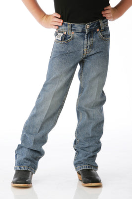 Cinch MB12842001 Little Boys Regular Fit (4-7) White Label Jean
