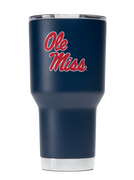 Ole Miss 30oz. Navy Stainless Steel Tumbler