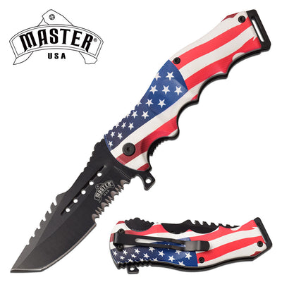 MASTER USA MU-A102A SPRING ASSISTED KNIFE