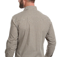 WRANGLER® MWR293M - WRINKLE RESIST LONG SLEEVE SHIRT - BROWN