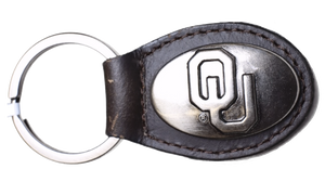 Zep-Pro KL6-BRW-OU Small (Crazy Horse) Oval Concho Key Chain