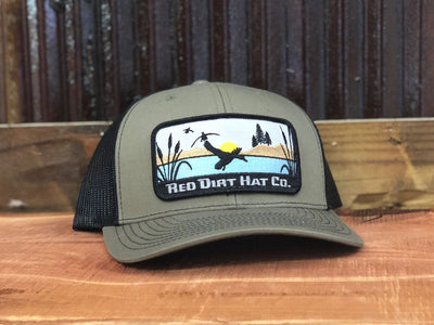 RDHC115 Ducks Red Dirt Hat Company