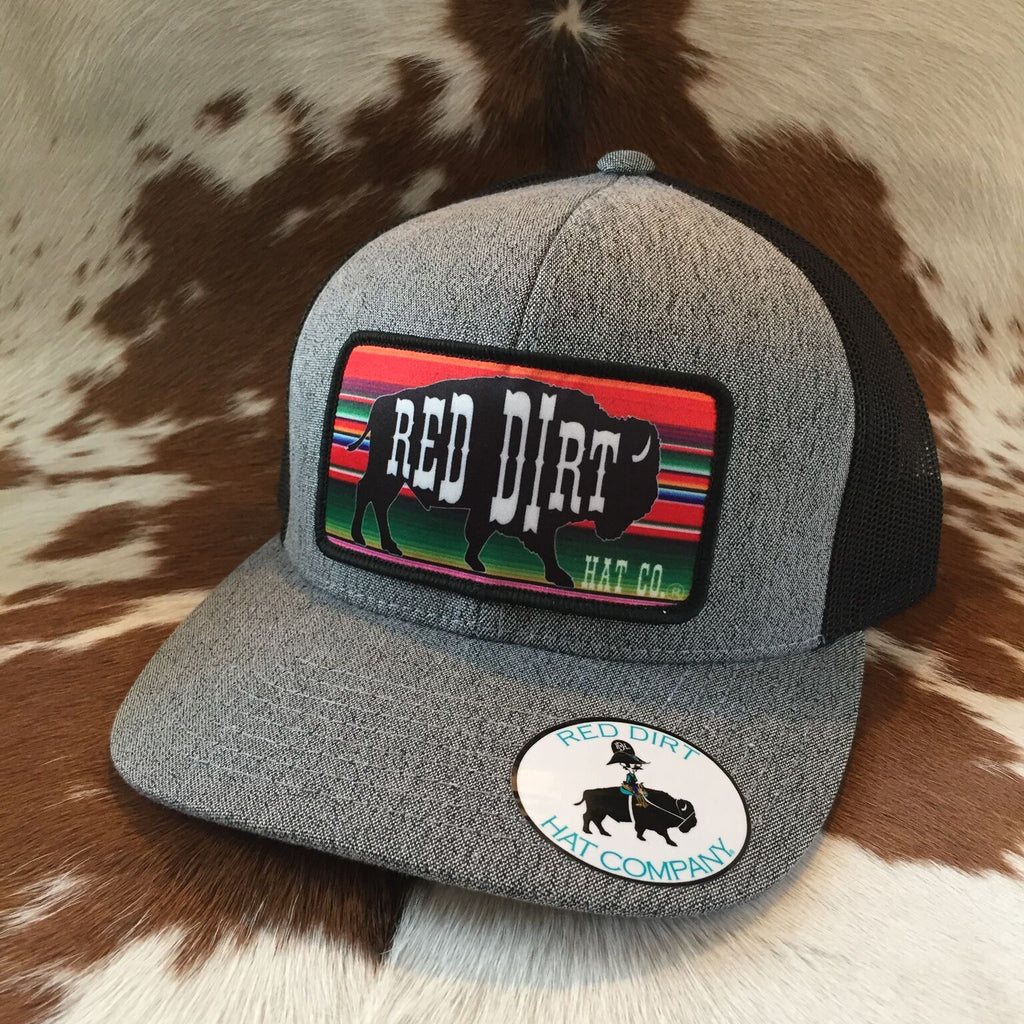 RDHC29 Serape Buffalo Red Dirt Hat Company