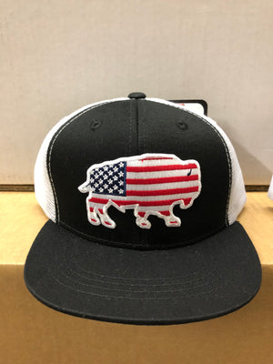 RDHCY5 YOUTH USA Buffalo Red Dirt Hat Company