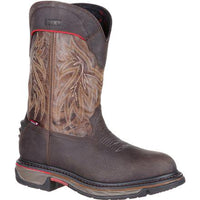"ROCKY RKW0202 11"" PULL ON IRON SKULL WATERPROOF WESTERN BOOT ROUND TOE *CLOSEOUT*"
