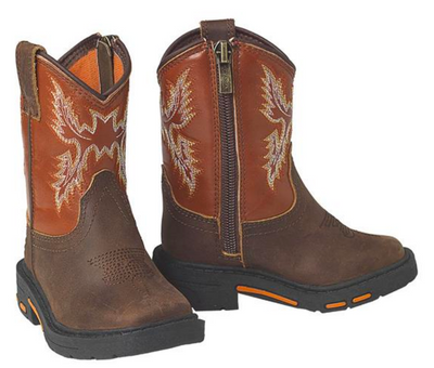 Ariat A441000002 LIL'STOMPERS Workhog Brown