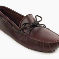 Minnetonka Moccasin 798 Classic Dark Brown Driving Moc *Closeout*
