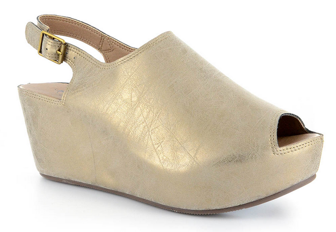 CORKYS 30-5253-BRGD BURNISHED GOLD COLLEGE SHOE *CLOSEOUT*