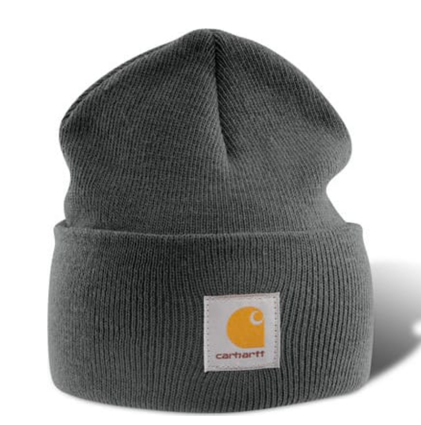 CARHARTT A18-CLH COAL HEATHER ACRYLIC WATCH HAT