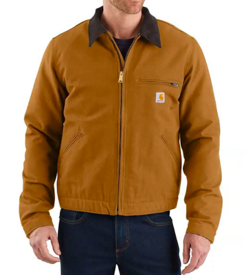 Carhartt 103828-BRN Carhartt Brown Detroit Jacket