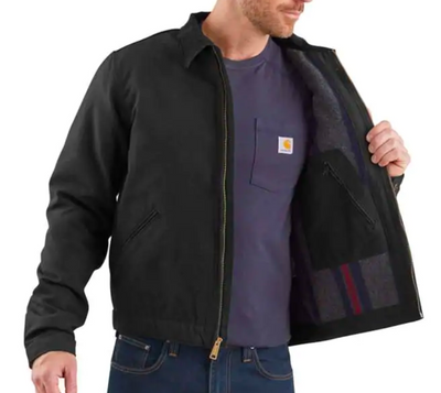 Carhartt 103828-DKB Dark Brown Detroit Jacket