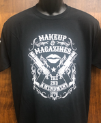 "2nd Amendment 22400 ""Make Up & Magazines"" Black Short Sleeve T-Shirt"