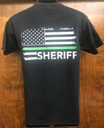 "2nd Amendment 19574 ""Sheriff"" Black Short Sleeve T-Shirt"