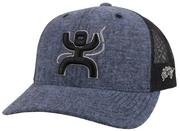"Hooey 2121T-BLBK ""ARC"" BLUE/BLACK HAT"