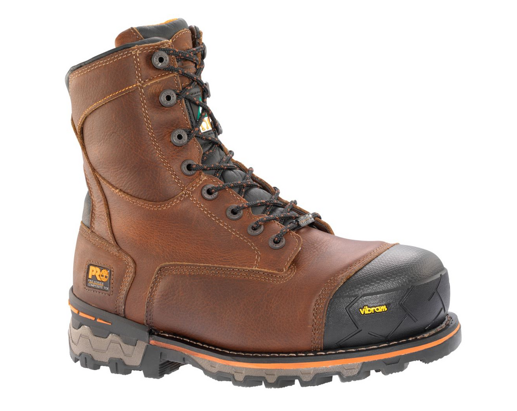 "TIMBERLAND TB089646214 8"" Boondock Composite Safety Toe Waterproof Insulated Boot CSA Brown"