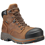 "TIMBERLAND PRO® TB0A1HQL214 Men's 6"" Helix HD Comp Toe Waterproof Brown"