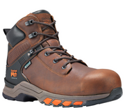 "TIMBERLAND PRO® TB0A1Q54214 Men's 6"" HYPERCHARGE NT WATERPROOF BROWN"