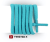 TWISTED X TXML007 SHOE LACE TURQUOISE (1 PAIR)